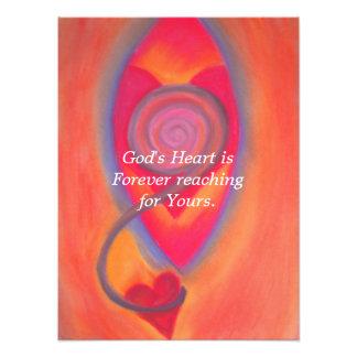 God's Heart print Photo Print
