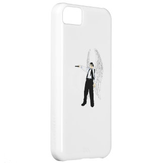 God's Hitman Angel With a Pistol Case For iPhone 5C
