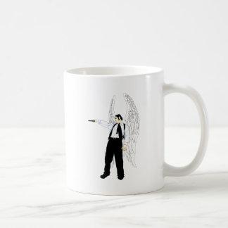 God's Hitman Angel With a Pistol Coffee Mug