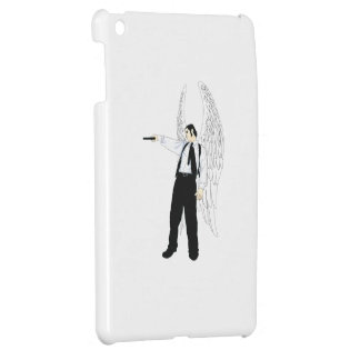 God's Hitman Angel With a Pistol Case For The iPad Mini