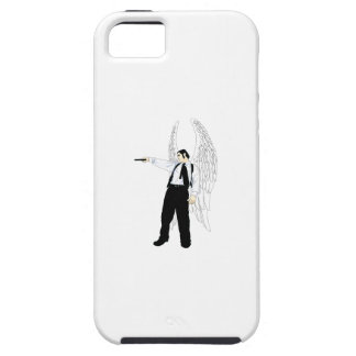 God's Hitman Angel With a Pistol iPhone 5 Cases