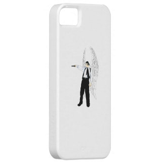 God's Hitman Angel With a Pistol iPhone 5 Covers