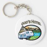 Gods Hotel Key Chain