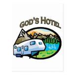 Gods Hotel Postcard