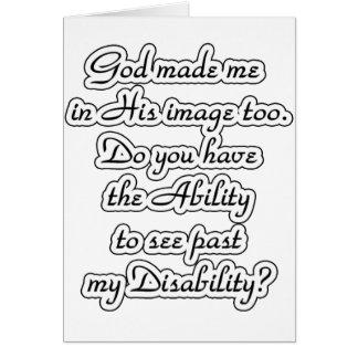 God's-image Card