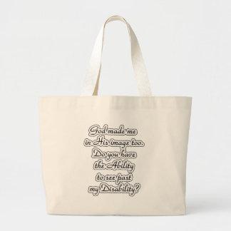 God's-image Large Tote Bag