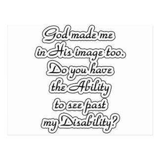 God's-image Postcard