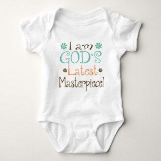 Gods Latest Masterpiece Baby Bodysuit