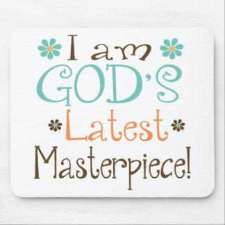 Gods Latest Masterpiece Mouse Pad