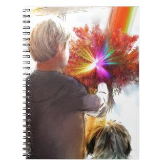 Gods law1 spiral notebook