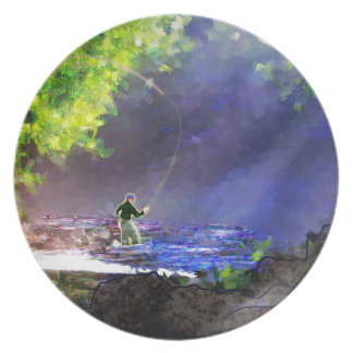 God's Light Melamine Plate