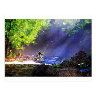 God's Light Postcard
