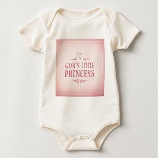 God's Little Princess Baby Bodysuit