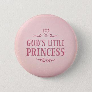 God's Little Princess Button