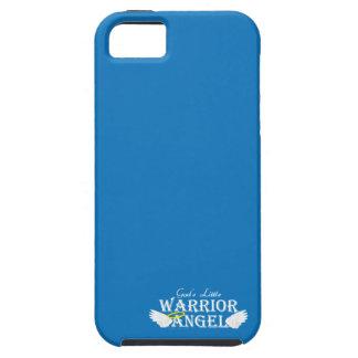 God's Little Warrior Angel iPhone 5/5S Case - Blue
