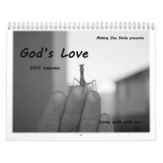 God's Love - $1.00 goes to Sick Kids Foundation - Calendars
