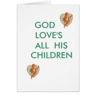GODS LOVE Card