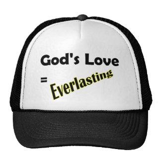 Gods love equals everlasting Christian design Trucker Hat