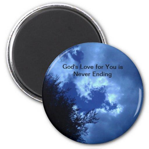 God's Love for You Magnet Fridge Magnets