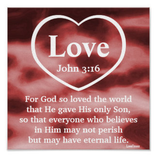 God's Love Gift  Poster-Customize