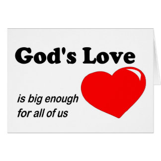 God Loves Us All Gifts on Zazzle