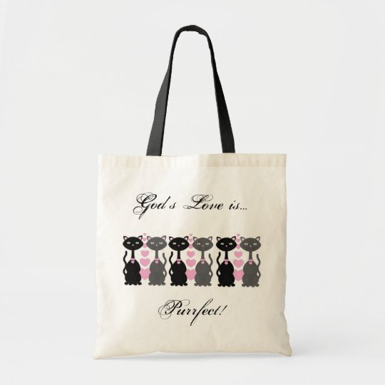 God's Love is Purrfect Tote
