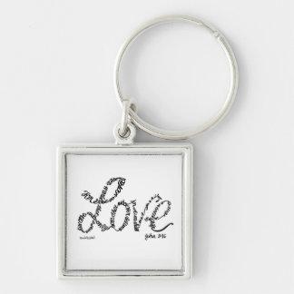 God's Love Keychain