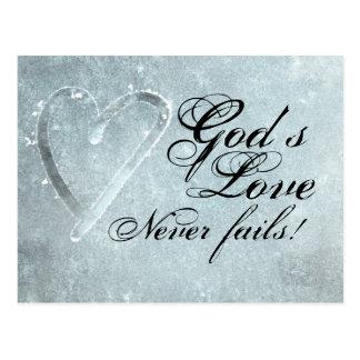 God's Love Postcard
