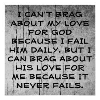 God's Love Poster