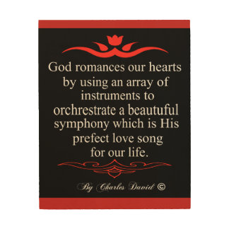 God's Love Wood Wall Art