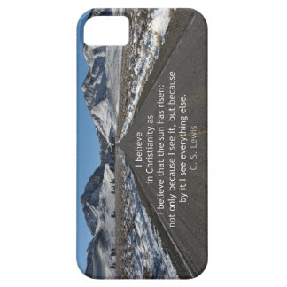 God's Majesty and belief iPhone SE/5/5s Case