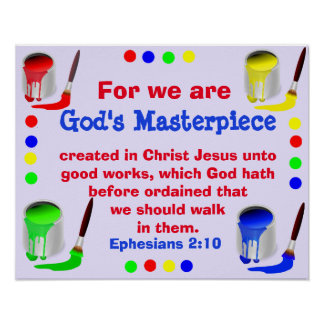 God's Masterpiece Poster