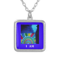 GOD'S NAME SILVER PLATED NECKLACE