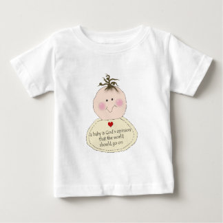 God's Opinion Baby Baby T-Shirt