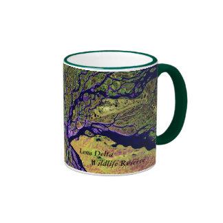 Gods Paintbrush - Lena Delta Wildlife Rsv Ringer Mug