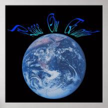 God's Peace On Earth Print