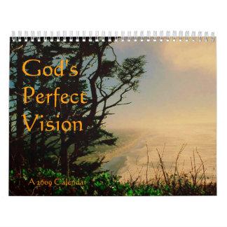 God's Perfect Vision Calendar
