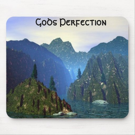 Gods Perfection Mouse Mat