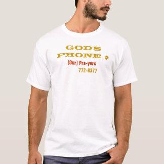 GOD'S PHONE # T-Shirt