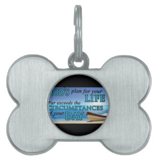 God's Plan For Your Life Pet Tags