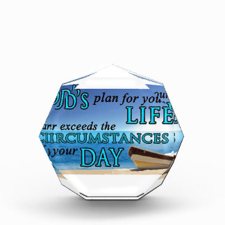 God's Plans For Your Life Award