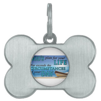 God's Plans For Your Life Pet Tag