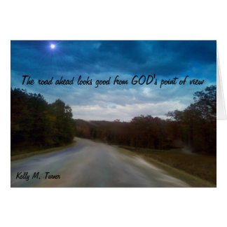 God's Point of View Photography Art Print Card