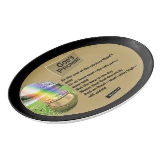 God's Promise Porcelain Serving Platter