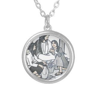 God's Promise Round Pendant Necklace