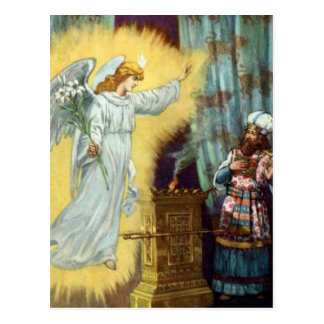 God's Promise to Zacharias Postcard