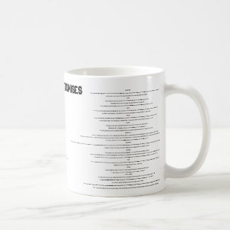 "GOD'S PROMISES, BELIEF"" I have come into the wo... Classic White Coffee Mug"