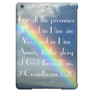 God's Promises bible verse iPad cover