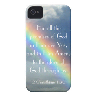God's Promises bible verse iPhone 4 cover