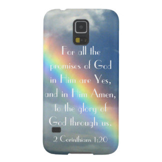 God's Promises bible verse Samsung Galaxy S5 cover